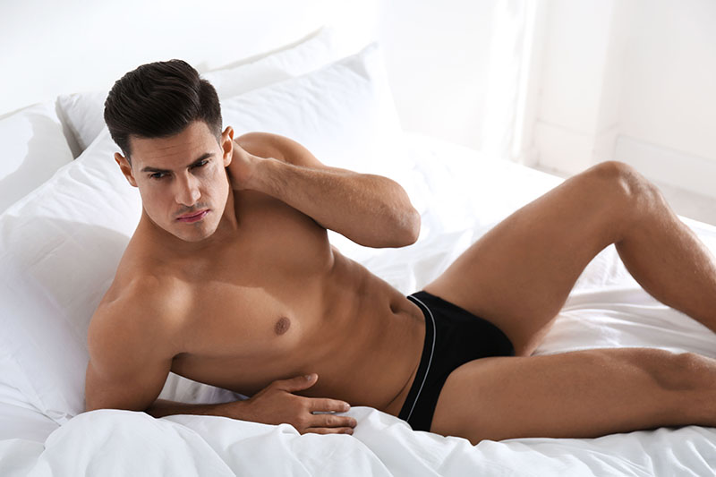 As cuecas modelo boxer são muito populares entre os brasileiros. Elas proporcionam conforto e segurança / GB Imagem
