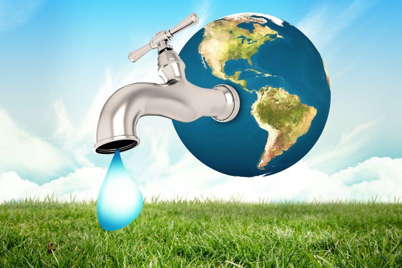 """A água é essencial para a manutenção da vida no Planeta Terra. A """"Agenda 21"""", em seu Capítulo 18, tem recomendações específicas quanto à preservação dos recursos hídricos - GB Imagem"""