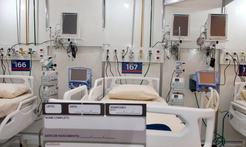 Hospital tem capacidade para 200 leitos, sendo 80 de UTI - Rogerio Santana/Governo do Estado do Rio