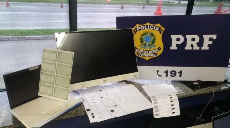 Os suspeitos falsificavam cadastros para recebimento do benefício criado pelo Governo Federal