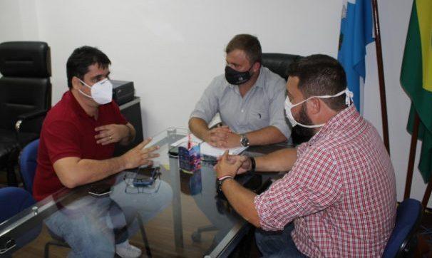 Lucas se reuniu com a direção ds Faetec para assegurar a parceria - Foto: Divulgação