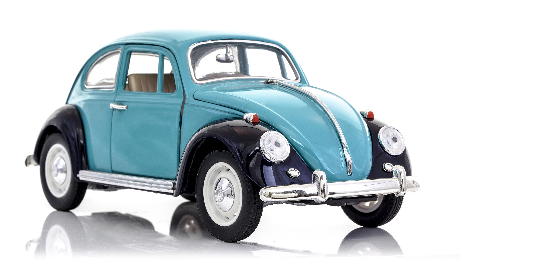 Até hoje o Fusca é o modelo de carro que mais vendeu. No Brasil, a Volkswagen o fabricou até 1996 / GB Imagem