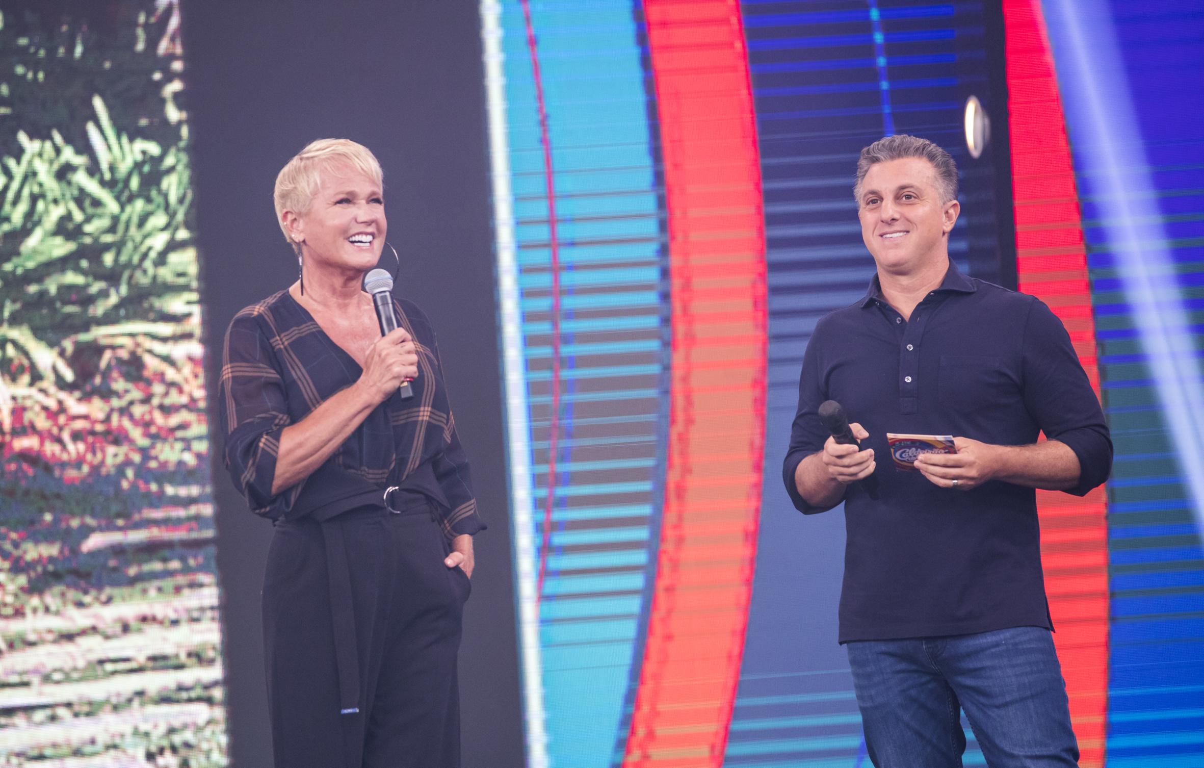 Xuxa Meneghel e Luciano Huck / João Miguel Jr-RG
