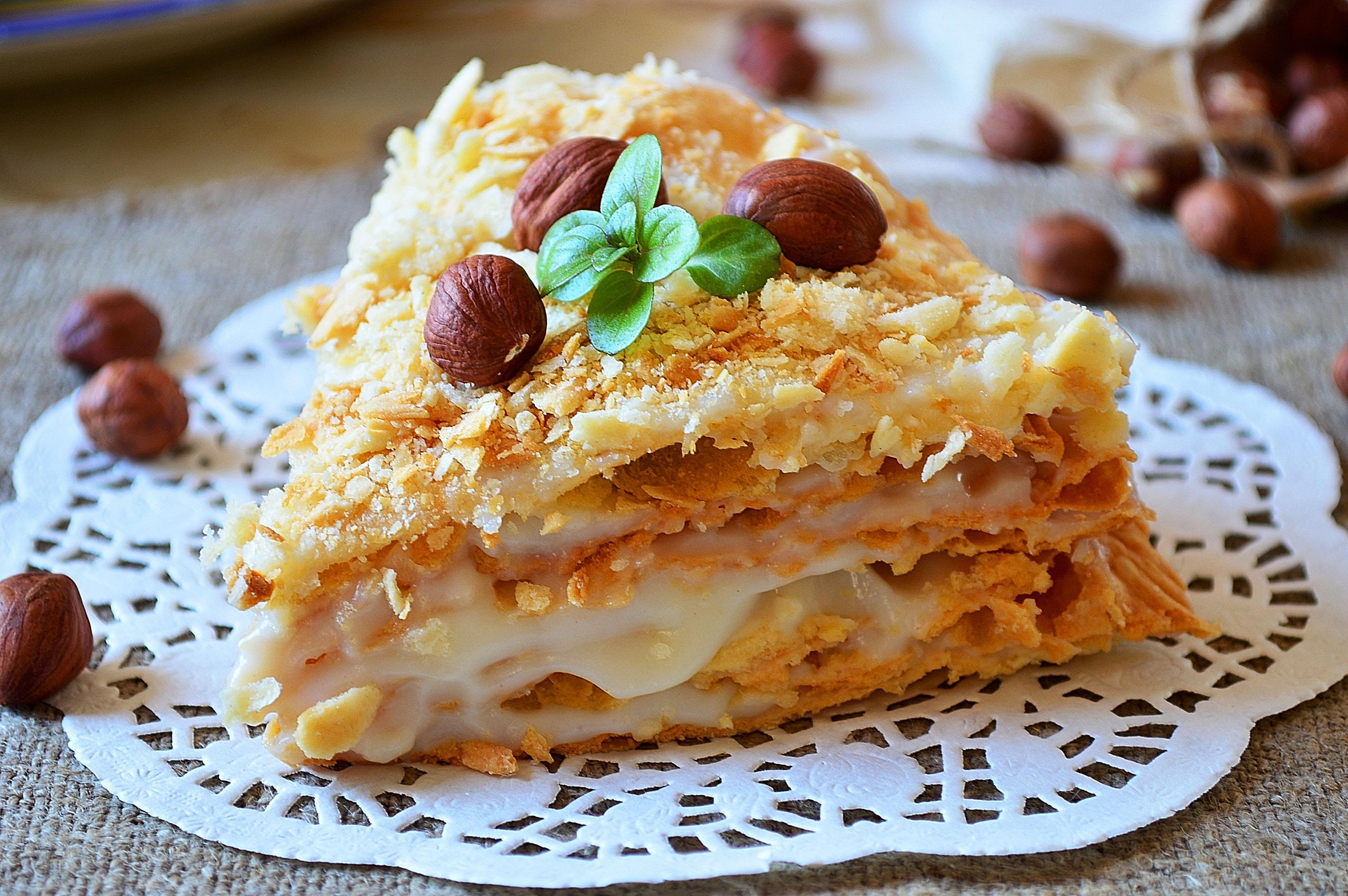 Napoleon Cake é um doce sofisticado, embora o seu preparo seja simples. É bom para servir na hora do lanche / GB Imagem