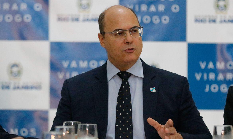 Governador Afastado Wilson Witzel será ouvido em sessão do Tribunal Especial Misto - Fernando Frazão/Agência Brasil