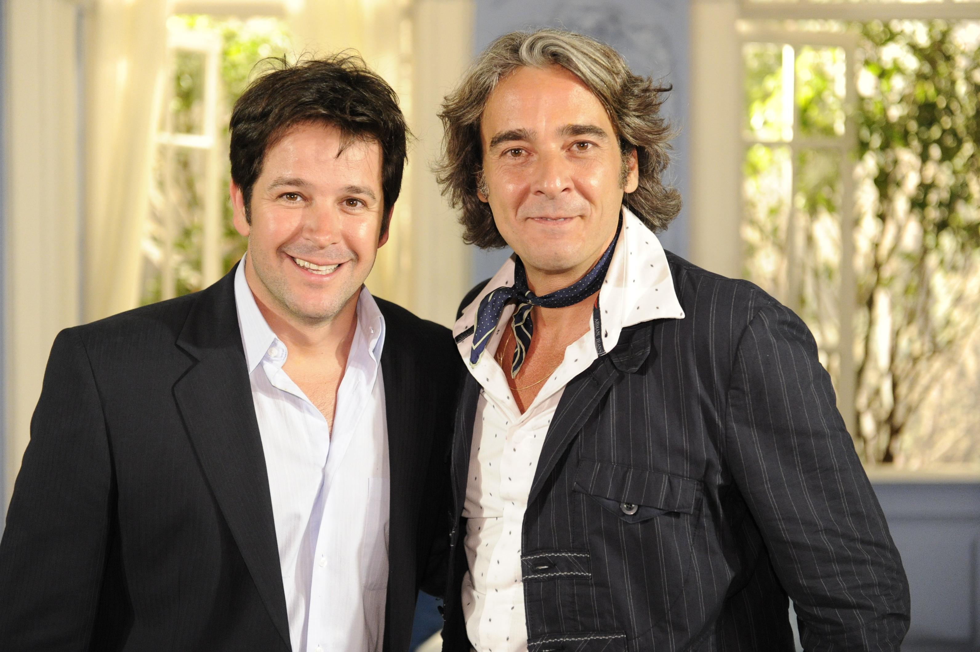 Jacques Leclair (Alexandre Borges) e Victor Valentin (Murilo Benício) são os principais personagens de um grande sucesso chamado
