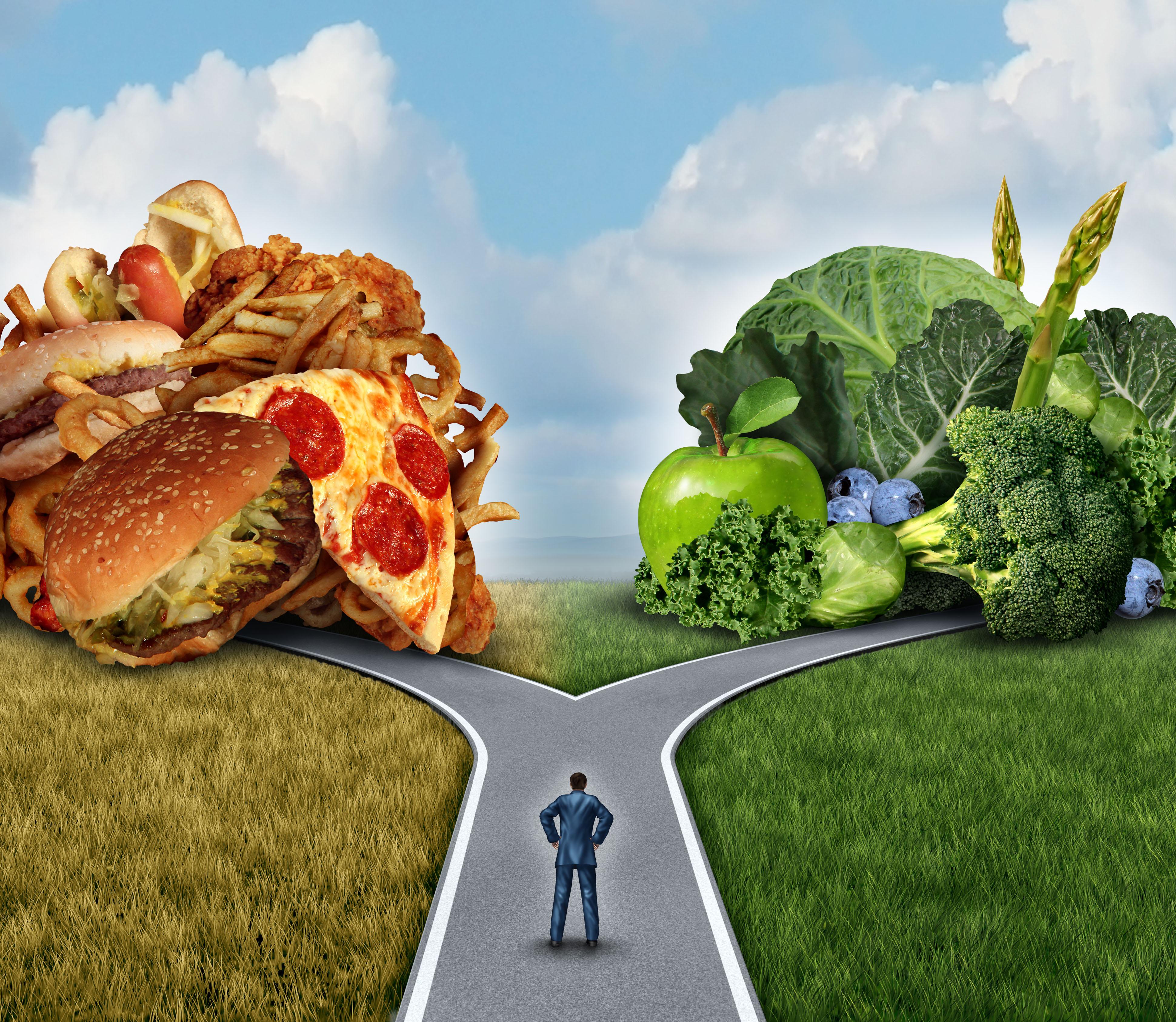 Uma alimentação saudável é a base para o desenvolvimento de um corpo capaz de resistir às doenças e ao estresse. / GB Imagem