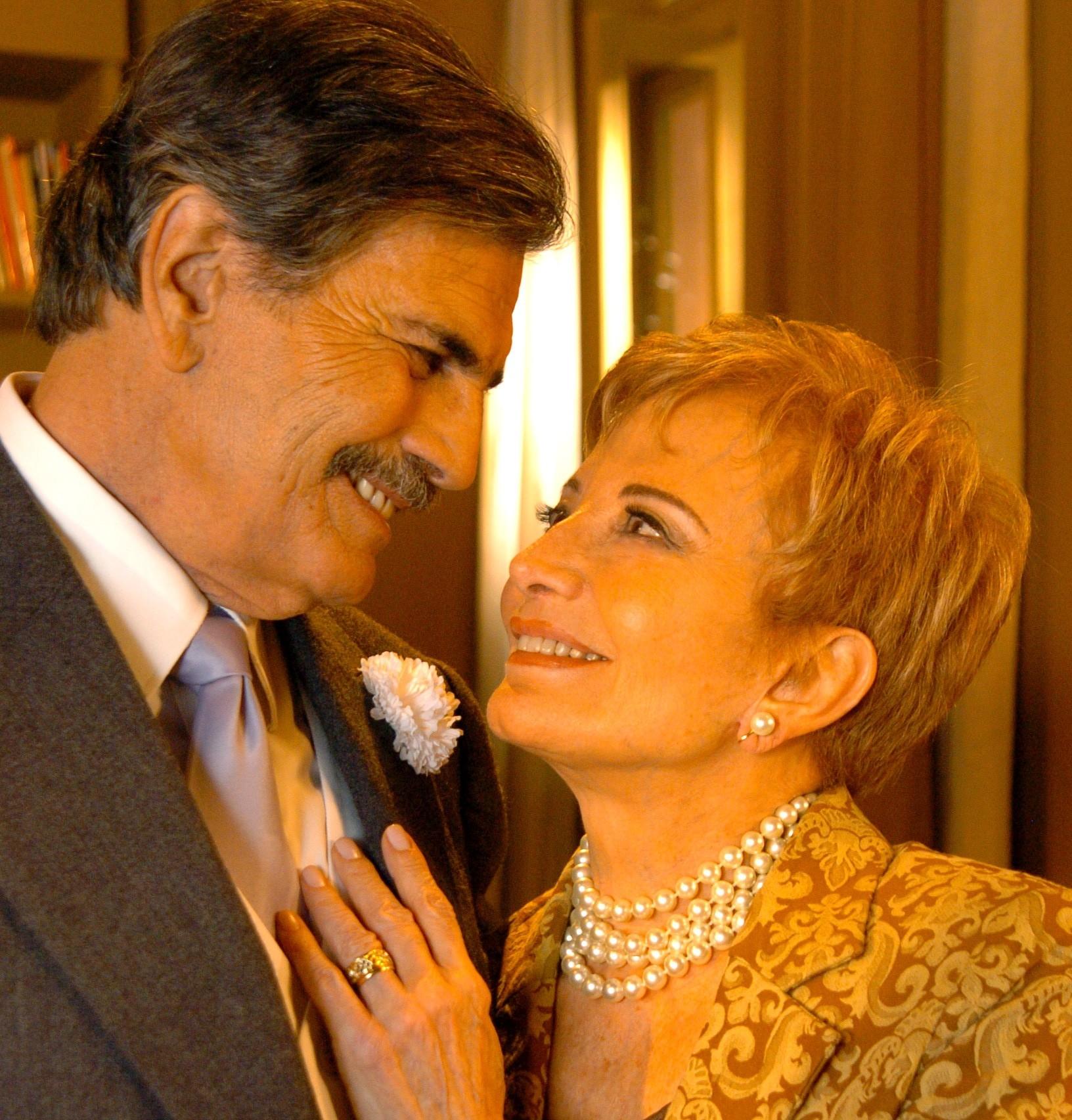 Glória Menezes e Tarcísio Meira. A parceria de amor começou há mais de cinquenta anos. Eles são considerados um dos relacionamentos mais estáveis do meio artístico / Renato Rocha Miranda-RG