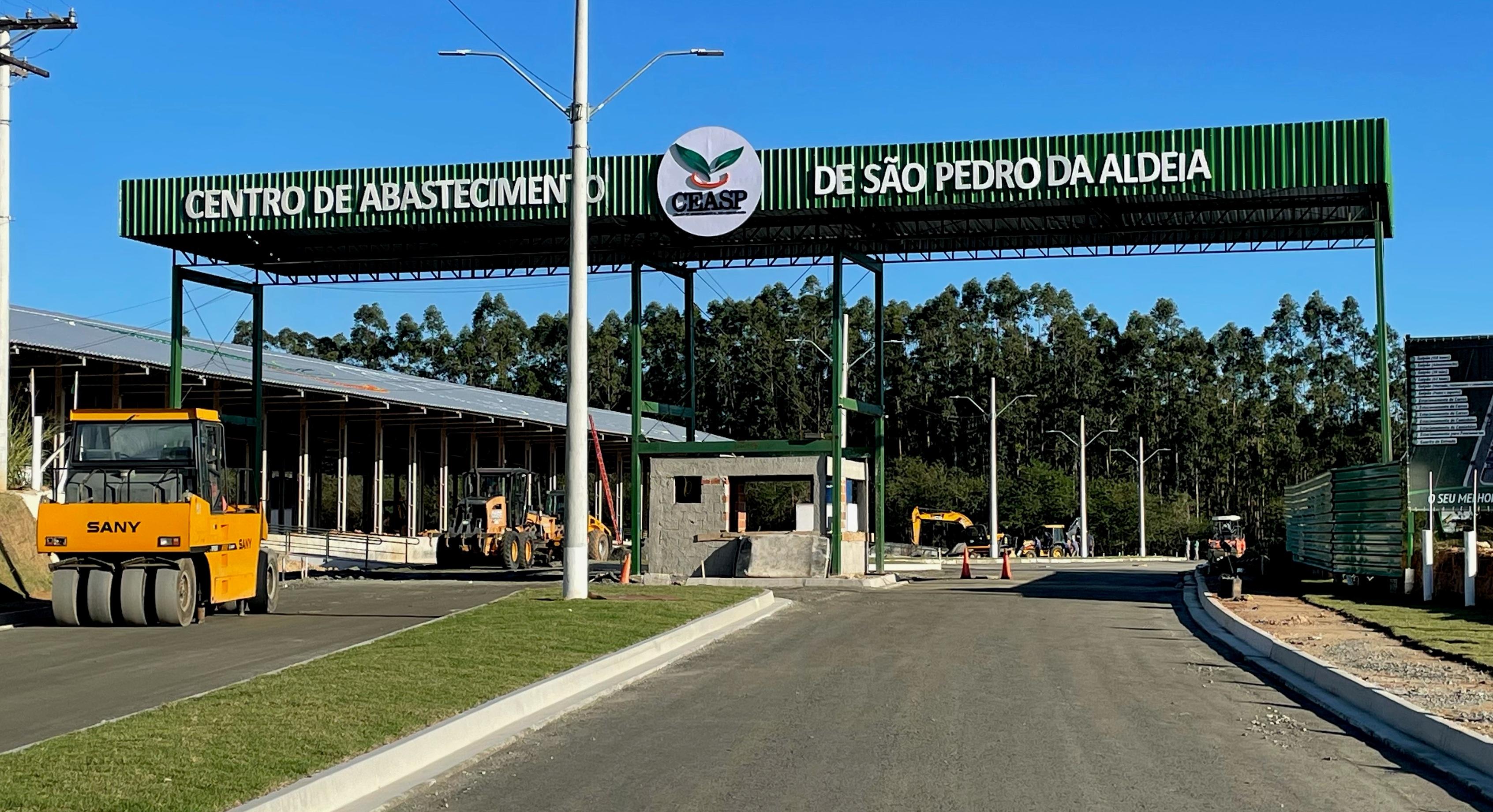 Maior centro privado de abastecimento de alimentos do Brasil será inaugurado em São Pedro da Aldeia