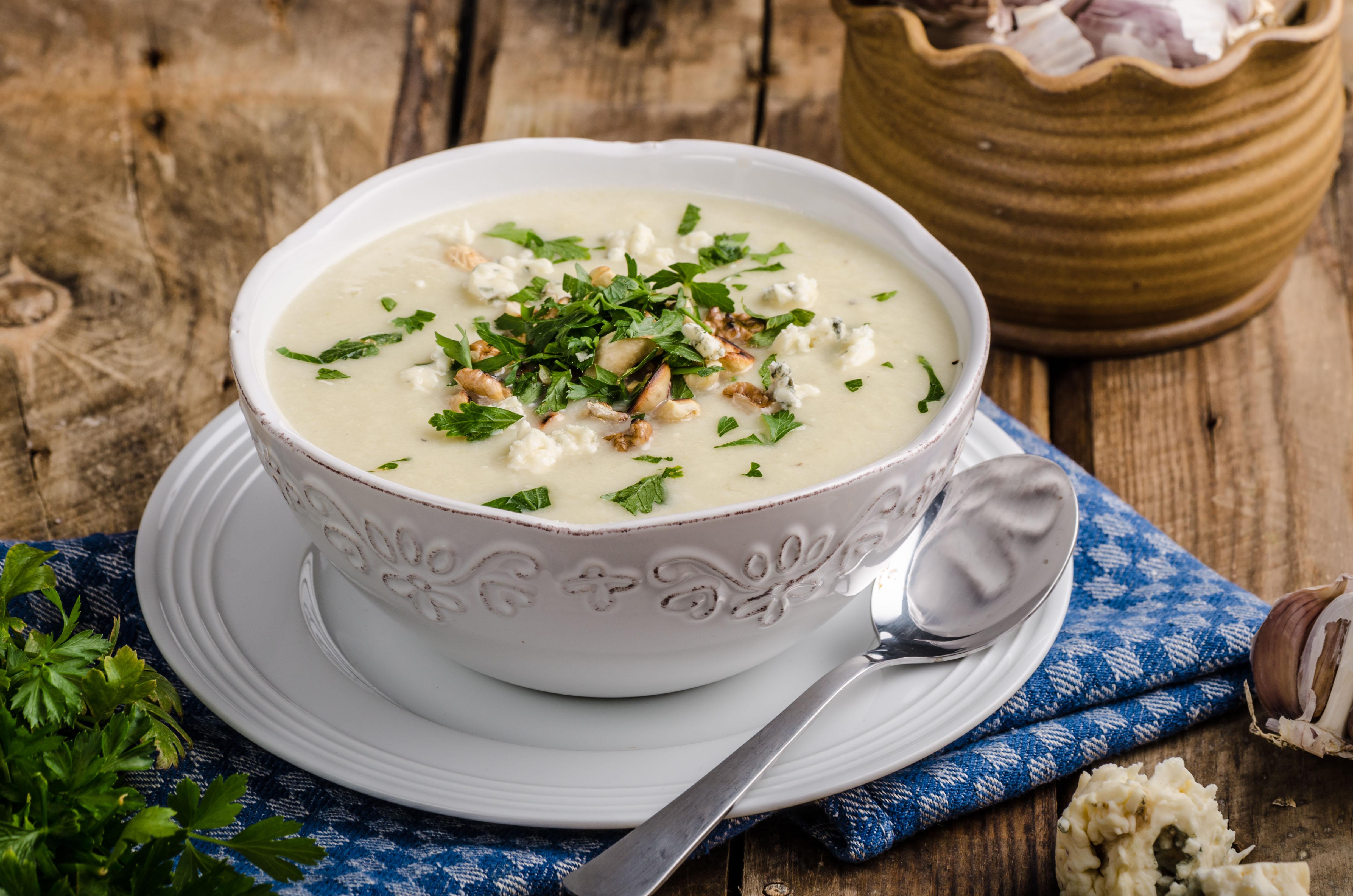 A Sopa de Couve Flor é opção para aquela refeição no final da noite / GB Imagem