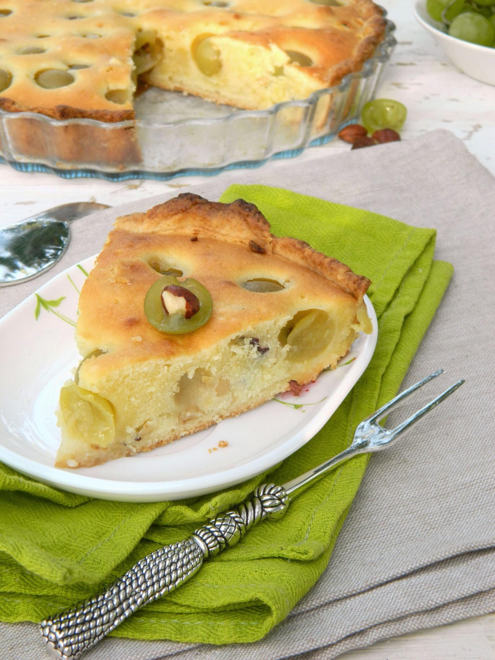 A Torta de Uva Verde é uma opção diferente e muito saborosa / GB Imagem